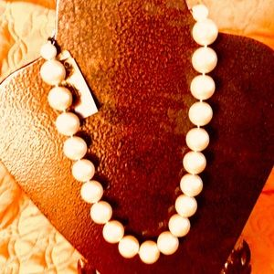 """CAROLEE LUX FAUX PEARL """"FIRST LADY'S"""" NECKLACE"""